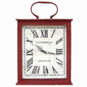 SHD-SHD0185 Vintage Red Wall Clock