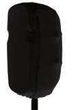 Stretchy dust cover to fit most 10-12 inch portable speaker cabinets. Black by Gator Cases Inc