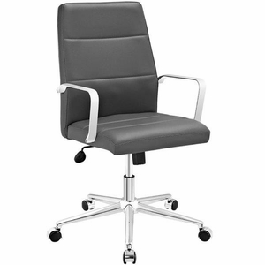 Stride Mid Back Office Chair, Gray