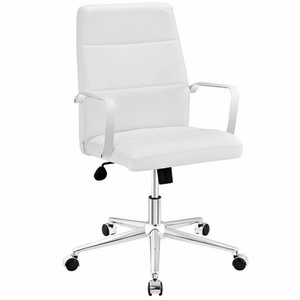 Stride Mid Back Office Chair, White