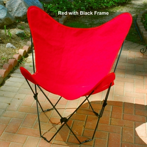 Striking Butterfly Styled Foldable Chair by Algoma