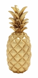 Stunning And Sparkly Golden Pineapple Decor - 62361 by Benzara