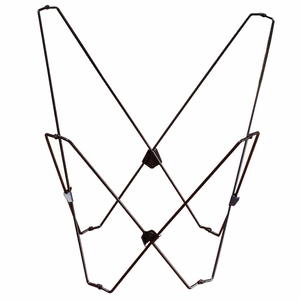 Stunning Black Butterfly Chair Foldable Frame by Algoma