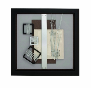 Fantastic Magnificent Wood Framed Art - 97600 by Benzara