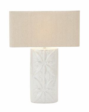Stylish Ceramic Table Lamp - 93668 by Benzara