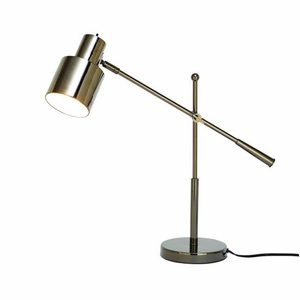 Stylish Metal Table Lamp by Benzara