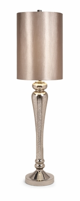IMAX Stylish Rennes Tall Mercury Glass Table Lamp Home Decor