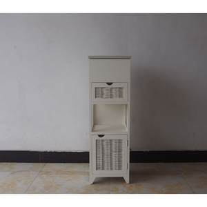 The Urban Port Stylish yet Compact Wood Cabinet