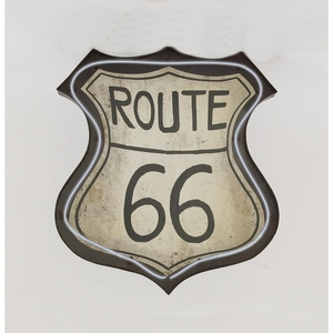 Stylishled Route 66 Sign - 54781 by Benzara