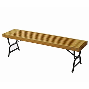 Stylishly Crafted Mall Style Bench by Algoma