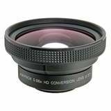 Super Quality Wideangle Lens 0.66X packed in display box