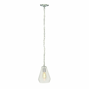 Superb Glass Lamp With Blub - 60717 by Benzara