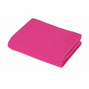 Supreme Jersey Knit Fitted Crib Sheet, Fuschia