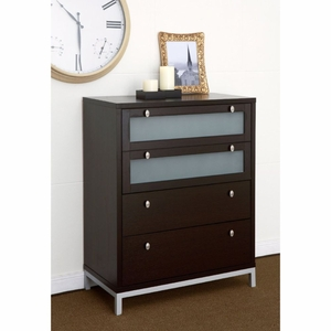 Tallulah 4-Drawer Contemporary Chest