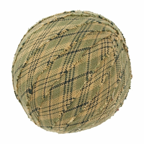 Decor Vhc 10698 Tea Cabin Fabric Ball 4 2 5 Set Of 6 At