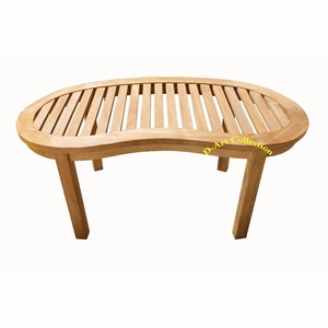 Teak Island Coffee Table by D Art Collection