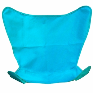 Teal Colored Replacement Cover for Butterfly Chair by Algoma