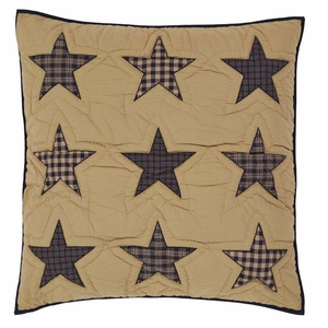 Teton Star Quilted Euro Sham 26x26 - 19854 by VHC Brands