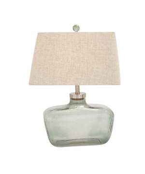 The Cute Glass Metal Table Lamp - 92014 by Benzara