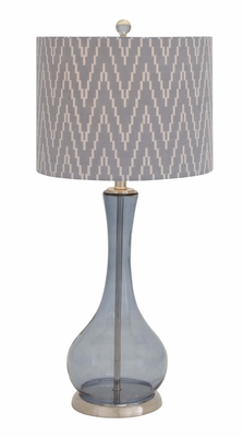 The Genie's Glass Metal Table Lamp - 40181 by Benzara