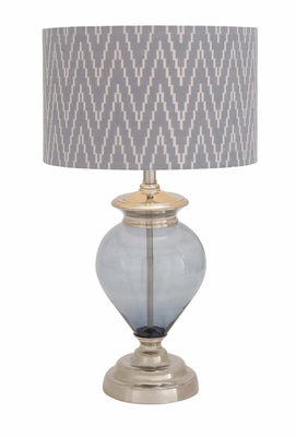 The Gorgeous Glass Metal Table Lamp - 40172 by Benzara