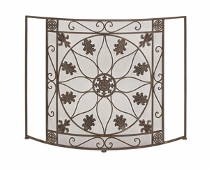 The Protective Metal Fire Screen - 28950 by Benzara
