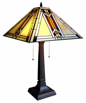 Timeless and Revering Mission Table Lamp by Chloe Lighting