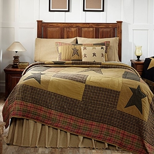 Timeless Stratton Luxury King Quilt by VHC Brands