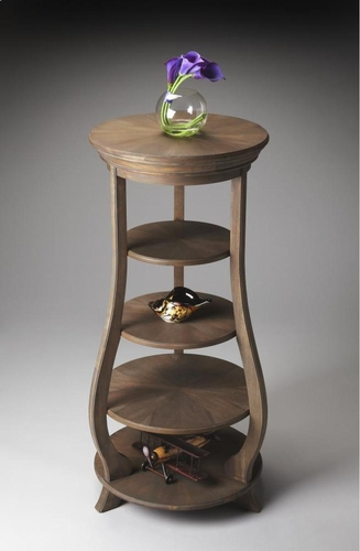 Buy toasted barley etagere by butler specialty for Wild orchid furniture
