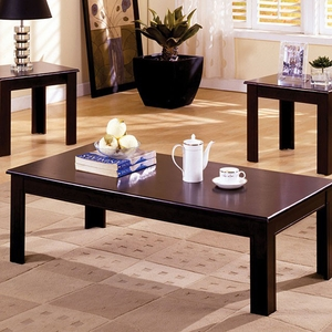 Town Square I Contemporary 3 PC Coffee Table Set
