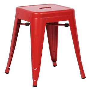 """Trattoria 18"""" Stool in Red by EdgeMod"""