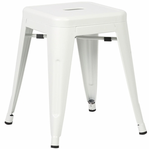 "Trattoria 18"" Stool in White by EdgeMod"