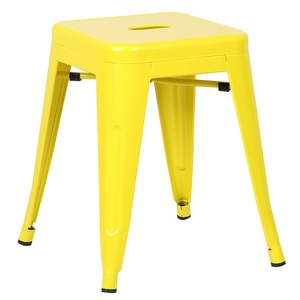 """Trattoria 18"""" Stool in Yellow by EdgeMod"""