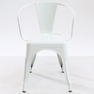 Trattoria Arm Chair in White by EdgeMod