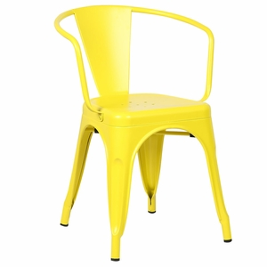 Trattoria Arm Chair in Yellow by EdgeMod