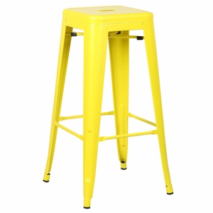 Trattoria Bar Stool in Yellow by EdgeMod