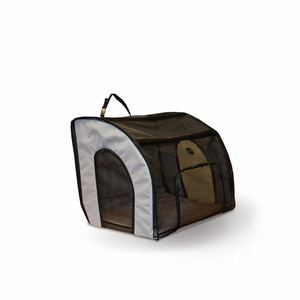 """KHM-7660 Travel Safety Carrier Small Gray 17"""" x 16"""" x 15"""""""