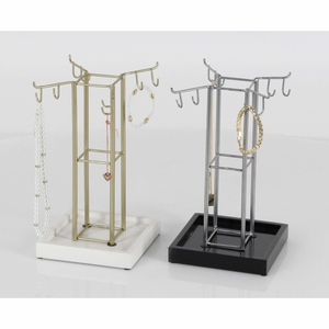 Tremendously Stylish Jewelry Holder, Assorted In 2 - 94631 by Benzara