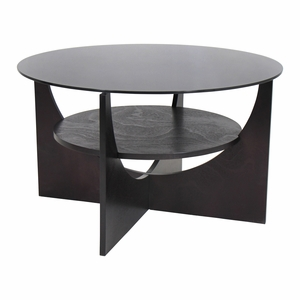 U-Shaped Coffee Table White by Lumisource