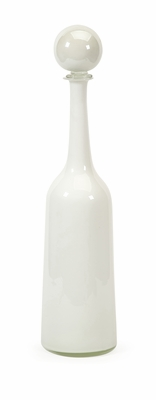 Unique Abrantes Large Glass Bottle with Stopper