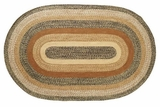 Unique Kettle Grove Jute Rug Oval by VHC Brands