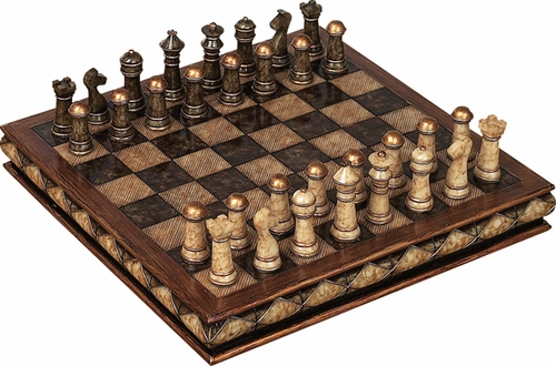 Buy Unique Marble Chess Set With Game Board Great For