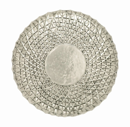 Round Shaped Wall Decor : Benzara unique metal wall round shape dcor in rustic