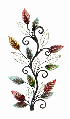 Metal Wall Decor Brings The Nature To Your Rooms - 13412 by Benzara