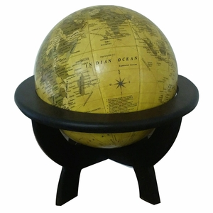 IMAX Uniquely Styled Globe on Stand Decor