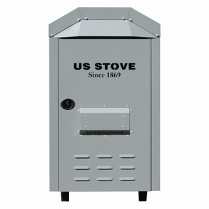 Ussc Outdoor Furnace Single Blower 180,000 Btu, No Collar by US Stove