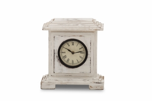"""Vintage Clock 4"""" With Top & Base Cutter Lines"""