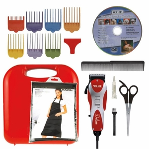 Wahl Deluxe U Clip Red 6.5x 2x 1.5 Inch