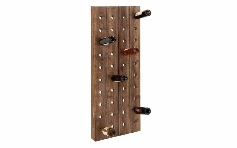 Buy Wall Decor Wall Art Features Wood Wine Rack Design At