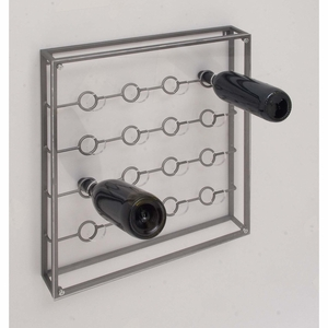 Wall Mount Wine Holder - 84377 by Benzara